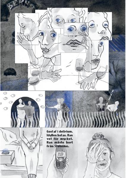 Illustration ur Scandorama